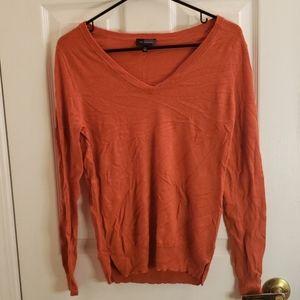 The Limited Orange Lightweight Sweater Medium